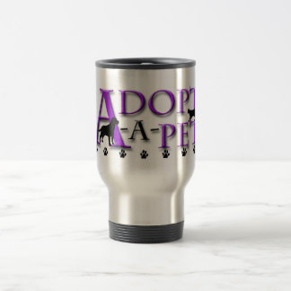 Adopt-A-Pet Travel Mug