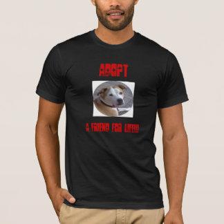 Adopt a Pitbull T-Shirt