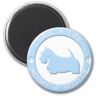 Adopt a Scottie Magnet