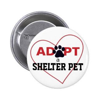 Adopt a Shelter Pet Buttons