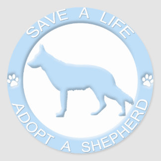 Adopt a Shepherd Stickers