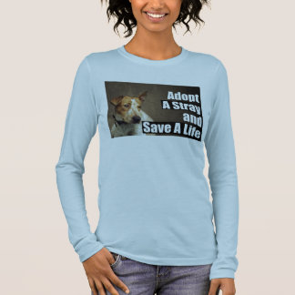 Adopt A Stray ( front ) T-Shirt