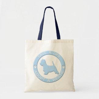 Adopt a Westie Bag