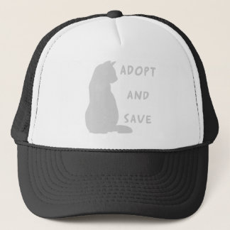 Adopt and Save Trucker Hat