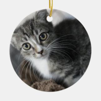 ADOPT Bobbet Round Ceramic Ornament