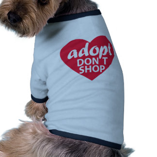 Adopt Dont Shop Dog Clothes