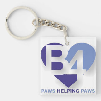 Adopt Don't Shop Keychain