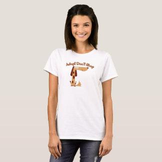 Adopt Don't Shop Women's Basic T-Shirt