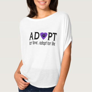 Adopt For Love T-Shirt