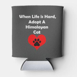 Adopt Himalayan Cat Can Cooler