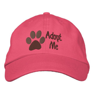 Adopt Me PawPrint Animal Adoption Embroidered Hat