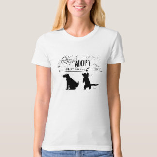 """ADOPT. RESCUE. SAVE."" T-Shirt"