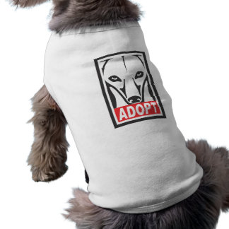 Adopt the Whippet Greyhound Shirt