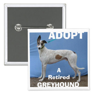 ADOPT (WBD) v.2 2 Inch Square Button