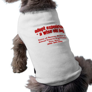 Adopt Wise Old Dogs Shirt