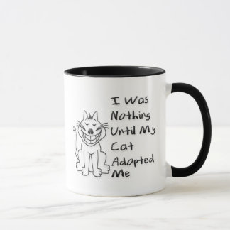 Adopted by a Cat Mug