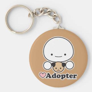 Adopter (dog) Keychain