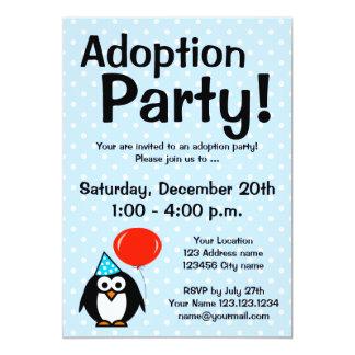 Adoption announcement party invitations