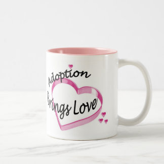 Adoption Brings Love Coffee Mug