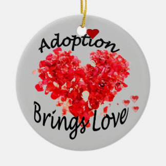 Adoption BRINGS LOVE Ornament