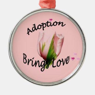 Adoption Brings Love Tulip Ornament