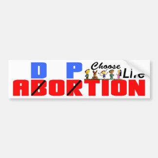 Adoption: Choose Life! Bumper Sticker