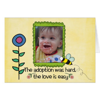 adoption day card