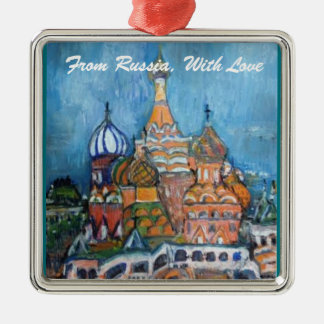 """Adoption""""From Russia..."""" St. Basil's Ornament"""