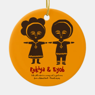 Adoption Love Siblings Photo Ornament