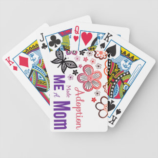 Adoption Made Me a Mom Poker Deck