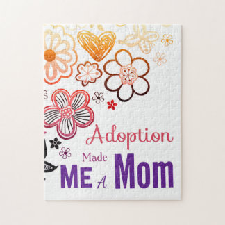 Adoption Made Me a Mom Puzzle
