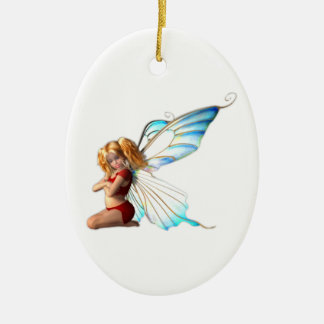 Adora Fairy Oval Hanging Ornaments