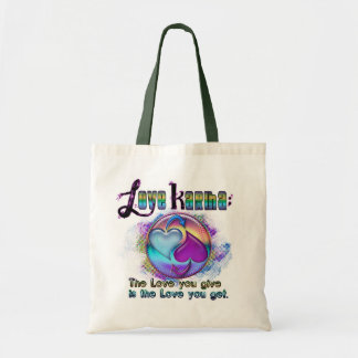 'Adora Love Karma meditation tote Budget Tote Bag