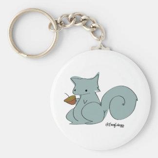 Adora-Squirrel Basic Round Button Keychain