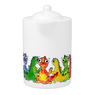 Adorabe baby dinosaurs, bright colors