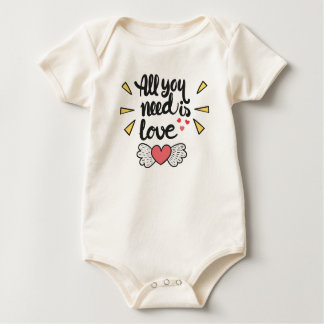 Adorable All You Need is Love   Bodysuit
