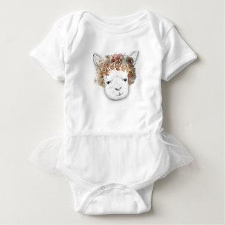 Adorable Alpaca Baby Bodysuit