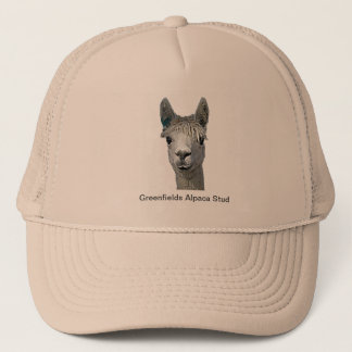 Adorable Alpaca Trucker Hat