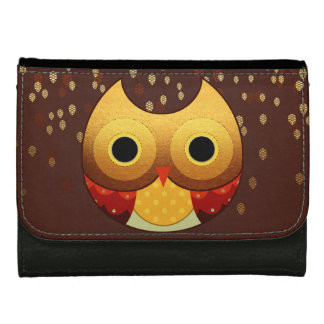 Adorable Autumn Owl Wallets For Women