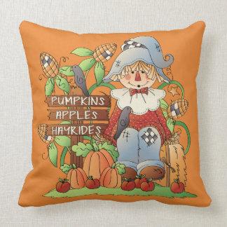 Adorable Autumn Throw Pillow