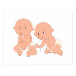 Adorable Babies Postcard