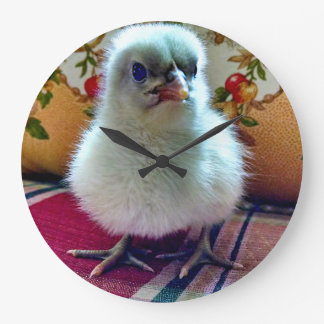 Adorable Baby Chick Wall Clock