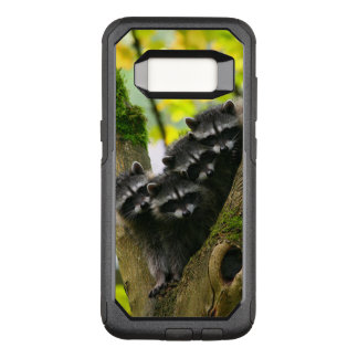 Adorable Baby Raccoons OtterBox Commuter Samsung Galaxy S8 Case