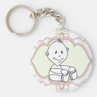 Adorable Baby's Keychains   Customize