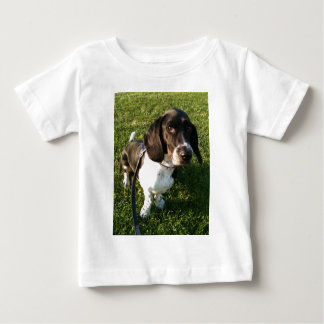 Adorable Basset Hound Snoopy Baby T-Shirt