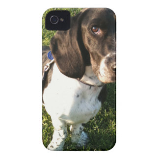 Adorable Basset Hound Snoopy iPhone 4 Case-Mate Case