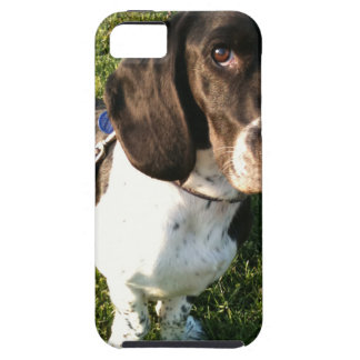 Adorable Basset Hound Snoopy iPhone 5 Cases