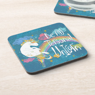 Adorable Be My Personal Unicorn | Coaster