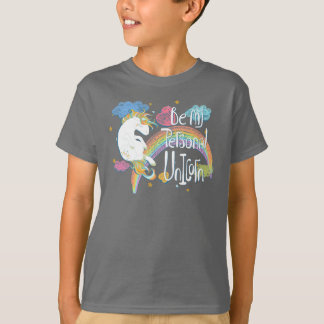Adorable Be My Personal Unicorn | Shirt