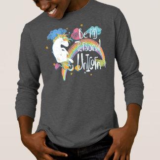 Adorable Be My Personal Unicorn | Sleeve Shirt